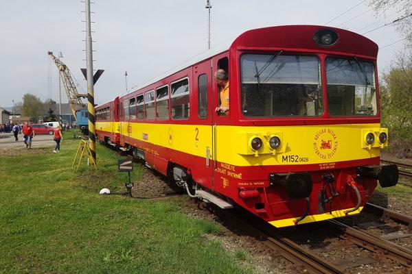 Týmto vlakom sa odveziete do Poľska.
