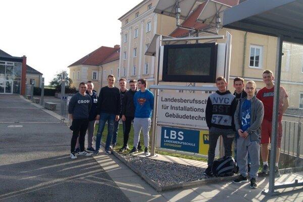 Pre žiakov SOŠ stavebnej v Žiline sú skúsenosti zo zahraničia veľmi cenné.