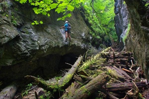 Slovenský raj - Kyseľ ferratová cesta