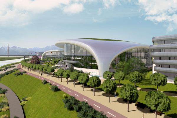 Návrh Areálu športu Dubeň.