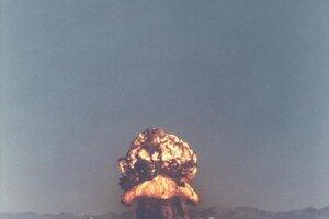 Test Fizeau v rámci operácie Plumbbob 14. septembra 1957.