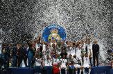 Real Madrid oslavuje zlatý hetrik