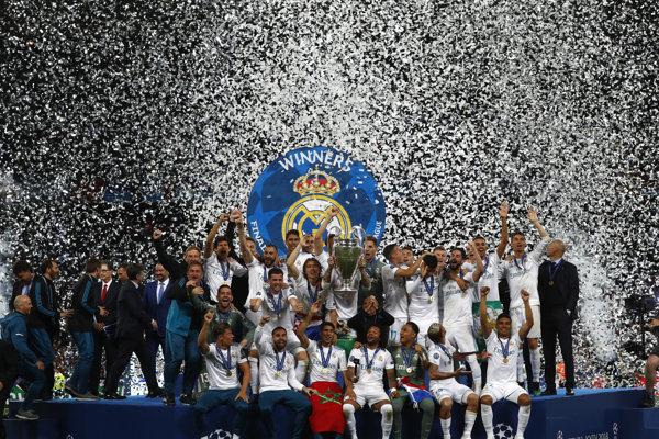Real Madrid je aktuálnym šampiónom Ligy majstrov.
