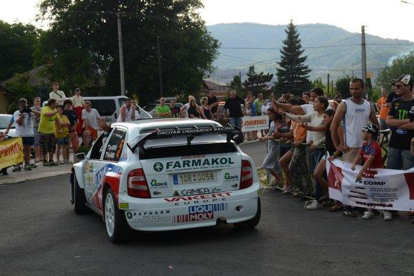 Rally Lubeník, rok 2012.