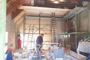 Firma dorába posledné stavebné úpravy domu smútku.