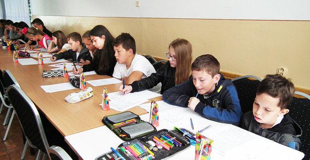 Až 63 detí ztroch škôl si preverilo svoje matematické vedomosti.