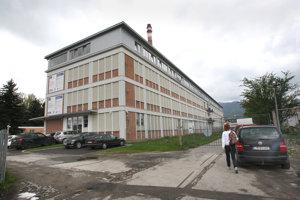 Prenajatá budova od firmy Armagedon v Liptovskom Mikuláši.