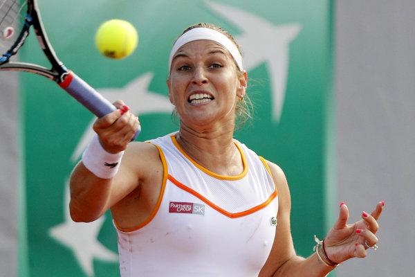Dominika Cibulková vypadla na Roland Garros v prvom kole.
