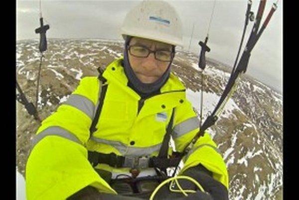 Nemec Kerim Jaspersen bude v sobotu 14. 9. o 20.30 h prednášať o paraglajdovom lietaní vo viacerých oblastiach sveta.