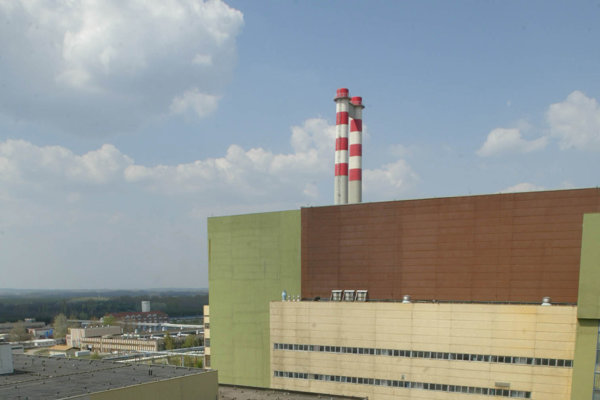 Jadrová elektráreň v maďarskom Paksi.