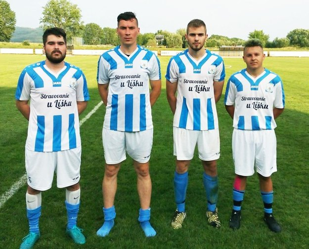 Strelci gólov za Slovan Zbehy.