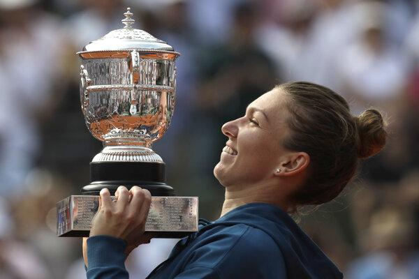 Simona Halepová triumfovala v Paríži.