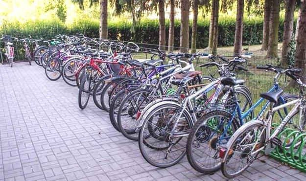 Bicyklovanie majú Martinčania radi.