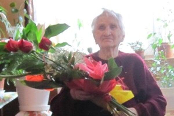Žofia Holešová oslávila 102 rokov.