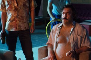 Javier Bardem ako Pablo Escobar.