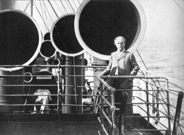 Karl May na ceste loďou do USA
