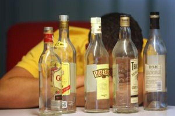 Ďalšia rodinná dráma, v ktorej úradoval alkohol.Ilustračné foto: PAVOL FUNTÁL