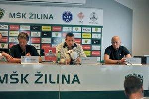Zľava Frans Adelaar, Karol Belaník a Miroslav Barčík.