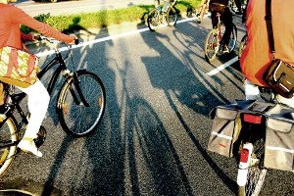 Spoločná jazda otvoreným mestom Cyklojazda. Stane sa tak v sobotu 22. 9. o 17.00 h na Hlinkovom námestí.