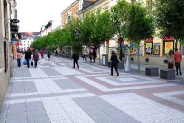 Takto by podľa vizualizácie mala vyzerať zrekonštruovaná Národná ulica v Žiline