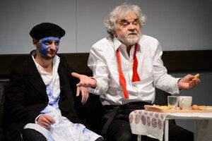 Kráľ Lear (príbeh sveta). S Tomášom Mischurom.