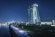 Budova ECB v Nemecku.
