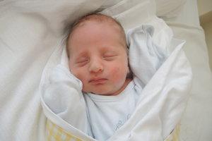 Ondrej Straka (2510g, 45cm) sa narodil 2. júna Ivane a Petrovi z Moravského Lieskového.