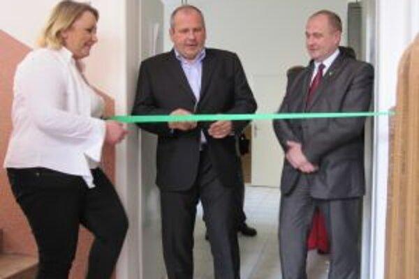 Oficiálne otvorenie Denného centra pre seniorov.