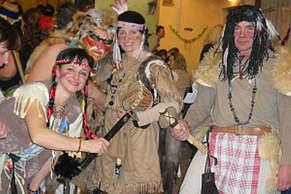 Dobrá nálada vládla počas celého karnevalu.