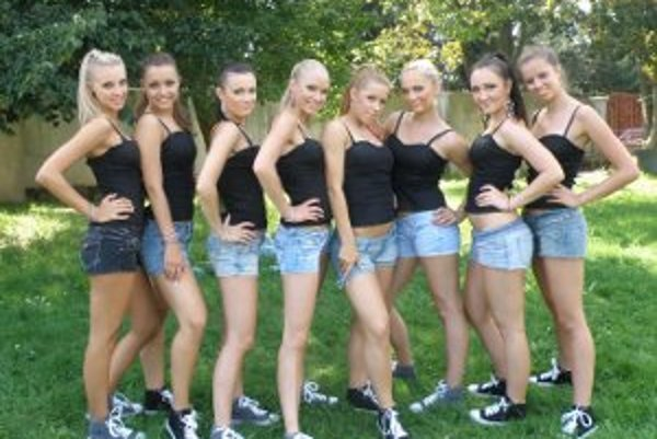 Sexi tanečnice z IN Dance Group.