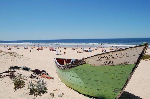 Pláže v okolí Lisabonu