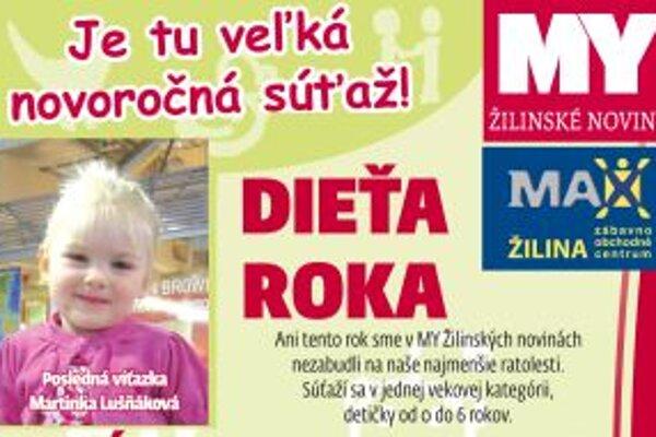 Kto bude Dieťa roka 2011 v Žiline?