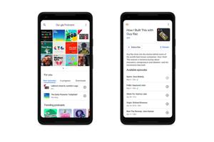Aplikácia Google Podcasty pre telefóny Android.