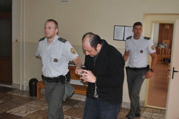 Sebastiano Vadala na súde v Trebišove.