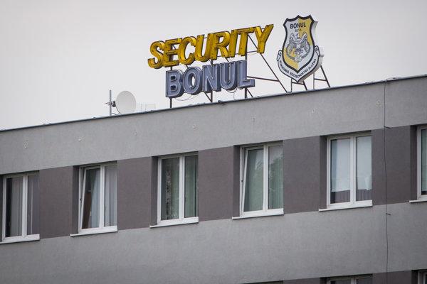 Sídlo spoločnosti Bonul Security, ktorá patrí podnikateľovi Miroslavovi Bödörovi známemu najmä vďaka kontaktom na špičky vládneho Smeru.