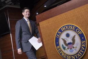 Šéf Snemovne reprezentantov Paul Ryan.