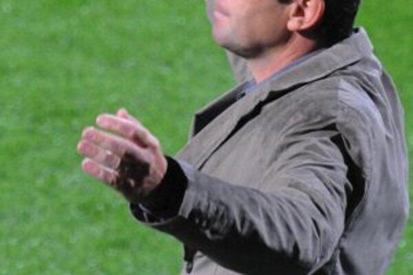 Tréner Nosický musel proti Trnave improvizovať.