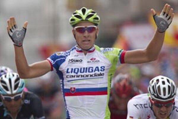 Ojedinelý cyklistický zjav. Peter Sagan víťazí už v mladom veku.