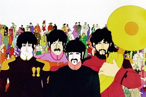 Beatles v Žltej ponorke.