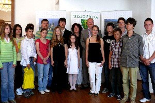 Toto je sedemnásť najlepších žiakov v Žiline.