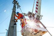 Vykonávanie práce na zariadeniach rozvodu elektrickej energie.