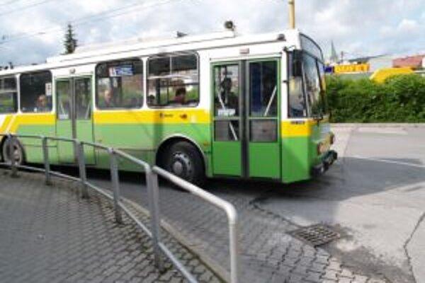 Trolejbusom sa momentálne odvezie v Žiline 70 percent cestujúcich.