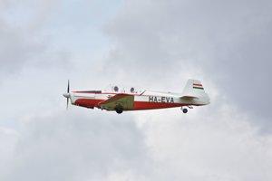 Lietadlá československej výroby prileteli aj z Maďarska.