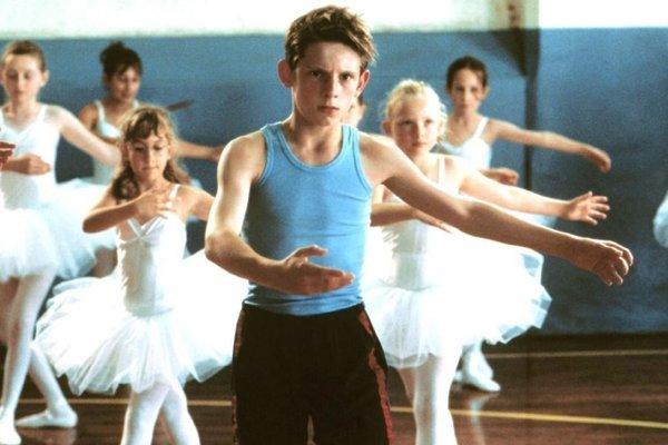 Jamie Bell vo filme Billy Elliot.