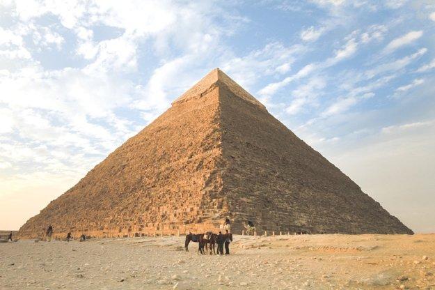 Slávne pyramídy v Egypte