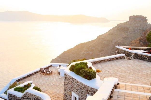Západy slnka na Santorini