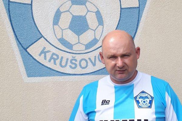 Vedúci mužstva Krušoviec - Miloš Matušík.