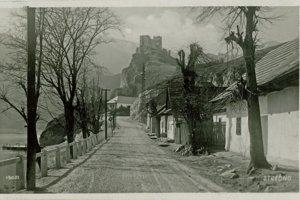Obec Strečno- rok 1931