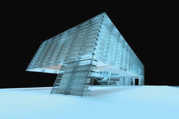 Medzi obúbený návrh Stanislava Krmárika patrí konferenné centrum spolonosti Graphisoft.