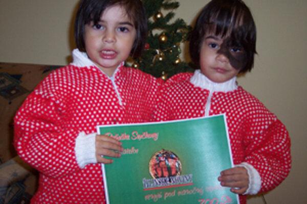Reňuška (vpravo) a Jessica Svrčkové nám prezradili, že sa veľmi tešia na Vianoce.